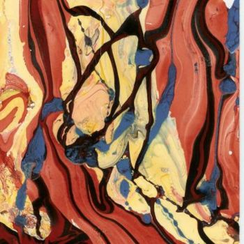 """Painting titled """"marble 23"""" by Annette Labedzki, Original Art, Oil"""