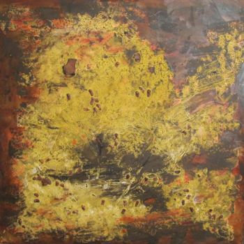 Painting, oil, abstract, artwork by Marc Lasserre