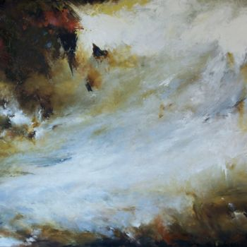"""Painting titled """"Zen on the Sea"""" by Laura Rominu, Original Art, Oil"""