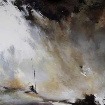 """Painting titled """"zen-on-the-sea-2.jpg"""" by Laura Rominu, Original Art, Oil"""
