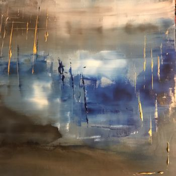 """Painting titled """"Shadow"""" by Laura Casini, Original Art, Acrylic"""