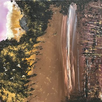 """Painting titled """"Meetingpoint"""" by Laura Casini, Original Art, Acrylic"""