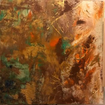"""Painting titled """"Action"""" by Laura Casini, Original Art, Acrylic"""