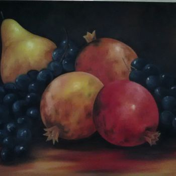 Painting, oil, artwork by Luciano Fernandes