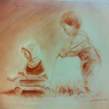 Kid Painting, artwork by L.Jakobsson