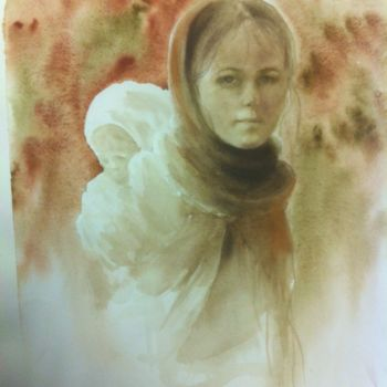 Painting, artwork by L.Jakobsson