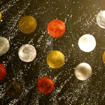 """Painting titled """"Music of the Sphere…"""" by Liza Peninon, Original Art, Acrylic"""