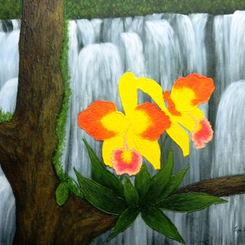 """Painting titled """"Voice In The Mist -…"""" by Liza Wheeler, Original Art, Acrylic"""