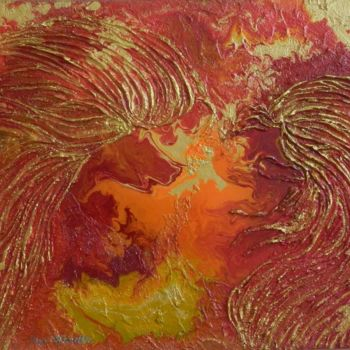 """Painting titled """"Celestial Wings - a…"""" by Liza Wheeler, Original Art,"""