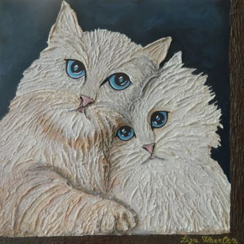 """Painting titled """"Princess and the Dr…"""" by Liza Wheeler, Original Art, Acrylic"""