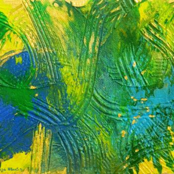 Painting, acrylic, abstract, artwork by Liza Wheeler