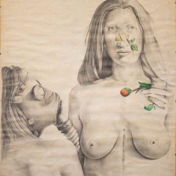 """Drawing titled """"'""""Generation Androg…"""" by Lucian Szekely-Rafan, Original Art, Pencil"""