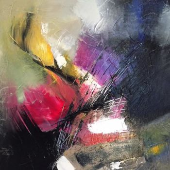 Painting, acrylic, abstract, artwork by Suely Blot