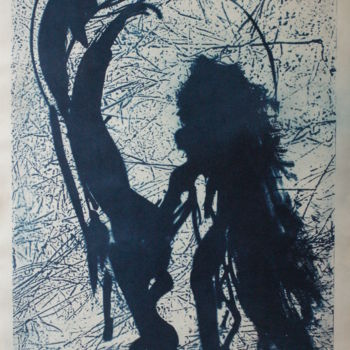 """Printmaking titled """"japanese"""" by Magdalena Gintowt-Juchniewicz, Original Art, Other"""