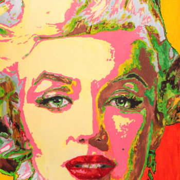 Painting, acrylic, pop art, artwork by Marat Cherny