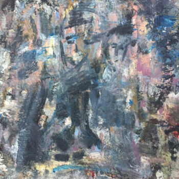 """Painting titled """"In the beginning ..."""" by Maria Emilov, Original Art, Oil"""