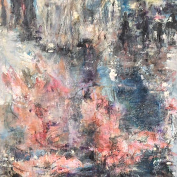Painting, oil, abstract, artwork by Maria Emilov