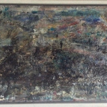 """Painting titled """"..in waiting for -2"""" by Maria Emilov, Original Art, Oil"""