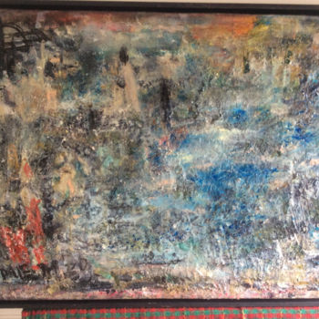 Spirituality Painting, oil, abstract, artwork by Maria Emilov