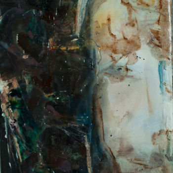 """Painting titled """"not-selfie"""" by Maria Emilov, Original Art, Other"""