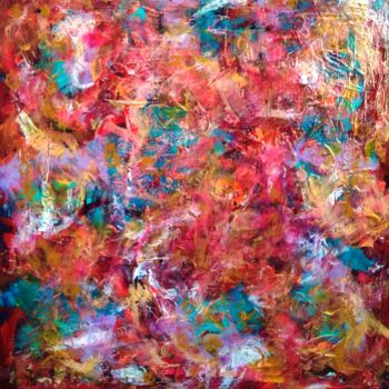 """Painting titled """"astratto n.1969"""" by Marino De Laura, Original Art, Tempera"""