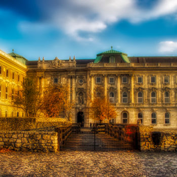 """Photography titled """"Building in Budapest"""" by Marian Bogatu, Original Art, Digital Photography"""
