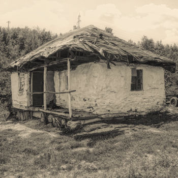"""Photography titled """"The old house"""" by Marian Bogatu, Original Art, Digital Photography"""