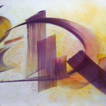 """Painting titled """"Si tu peut être dur."""" by Xavier Marze, Original Art, Acrylic Mounted on Stretcher frame"""