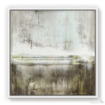 """Painting titled """"Tranquil Brown"""" by Max Kulich, Original Art, Acrylic"""