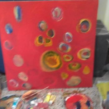 """Painting titled """"love.jpg"""" by Moeen Alsousi, Original Art, Acrylic"""