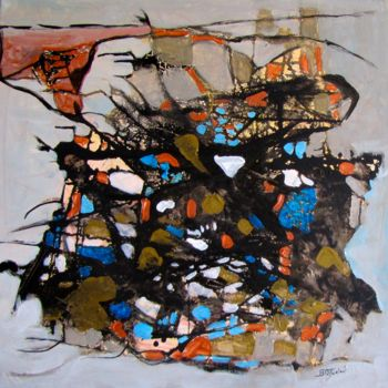 """Painting titled """"city-of-angels.jpg"""" by Bobbie O'Toole, Original Art, Acrylic"""
