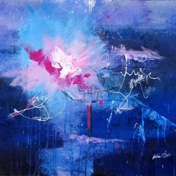 """Painting titled """"to-light-the-way.jpg"""" by Bobbie O'Toole, Original Art, Acrylic"""
