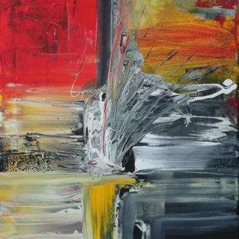 Painting, oil, abstract, artwork by Dmitri Matkovsky