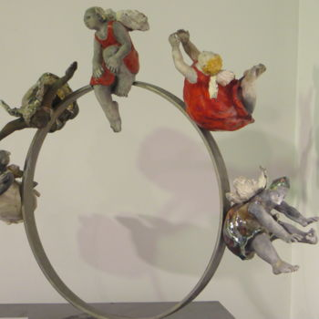 Sculpture, ceramics, figurative, artwork by Nicola Deux