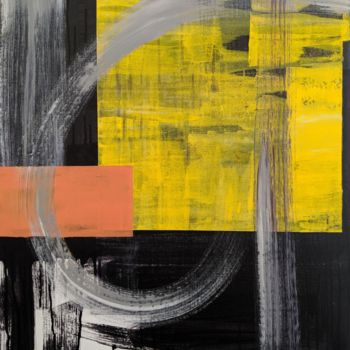 Painting, acrylic, abstract, artwork by Nadia Sheikh