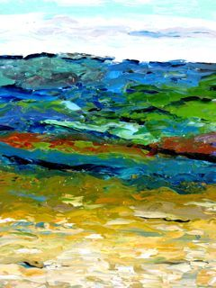Painting, oil, abstract, artwork by Noreen Schumann