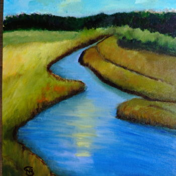 Painting, oil, impressionism, artwork by Noreen Schumann