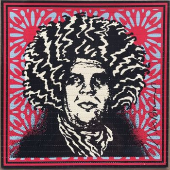 Psychedelic André (CLASSIC RED OBEY GIANT VARIANT)