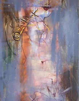 """Painting titled """"Melody of a dawn"""" by Oksana Veber, Original Art, Oil"""