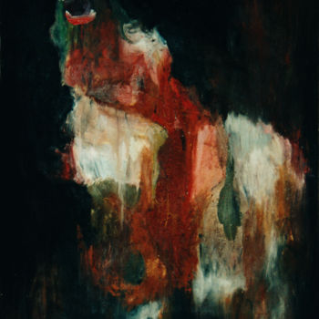 Painting, oil, expressionism, artwork by Ona Lodge