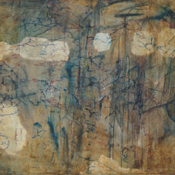 Painting, oil, conceptual art, artwork by Ona Lodge