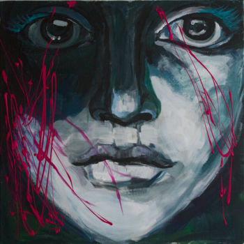 Painting, acrylic, conceptual art, artwork by Ona Lodge