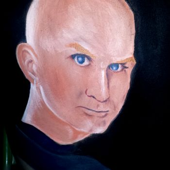 """Painting titled """"Craig Tracy, The Ma…"""" by Oscar Galvan, Original Art, Other"""