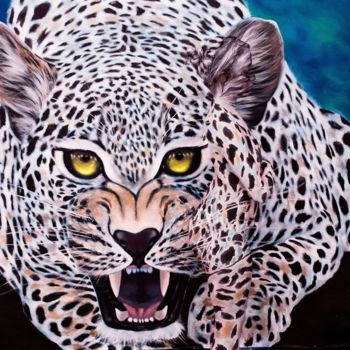 """Painting titled """"Fearless Defiance"""" by Oscar Galvan, Original Art, Other"""
