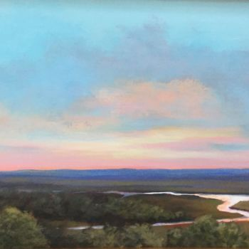 """Painting titled """"Forever View 12x24…"""" by Pam Carlson, Original Art, Acrylic"""