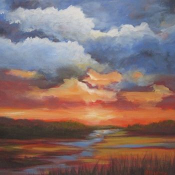 Painting, artwork by Pam Carlson