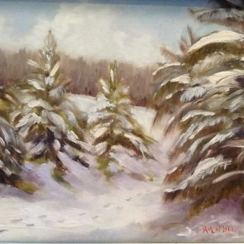 """Painting titled """"the-trail.jpg"""" by Pam Carlson, Original Art,"""