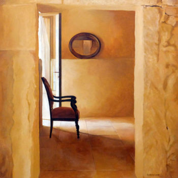 """Painting titled """"Intérieur N°52.jpg"""" by Patrice Lannoy, Original Art, Acrylic Mounted on Stretcher frame"""