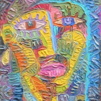 """Painting titled """"Untiled 1"""" by Paul Arenas, Original Art,"""