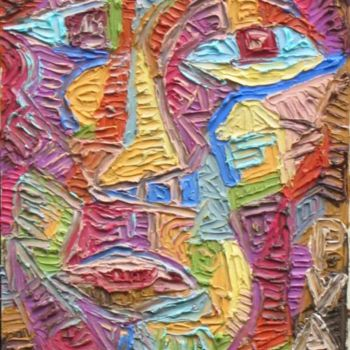 """Painting titled """"Untitled 2"""" by Paul Arenas, Original Art,"""